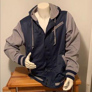 Aperture heavyweight hooded jacket